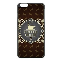Coffee House Apple Iphone 6 Plus/6s Plus Black Enamel Case by BangZart