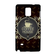 Coffee House Samsung Galaxy Note 4 Hardshell Case