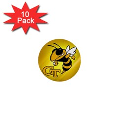 Georgia Institute Of Technology Ga Tech 1  Mini Buttons (10 Pack)