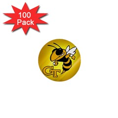Georgia Institute Of Technology Ga Tech 1  Mini Buttons (100 Pack)