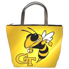 Georgia Institute Of Technology Ga Tech Bucket Bags