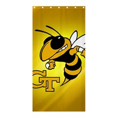 Georgia Institute Of Technology Ga Tech Shower Curtain 36  X 72  (stall)  by BangZart