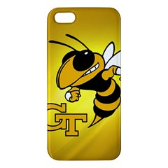Georgia Institute Of Technology Ga Tech Iphone 5s/ Se Premium Hardshell Case by BangZart