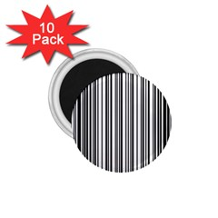 Barcode Pattern 1 75  Magnets (10 Pack)