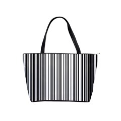 Barcode Pattern Shoulder Handbags