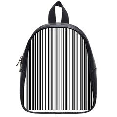 Barcode Pattern School Bags (small)  by BangZart