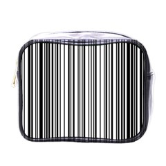 Barcode Pattern Mini Toiletries Bags