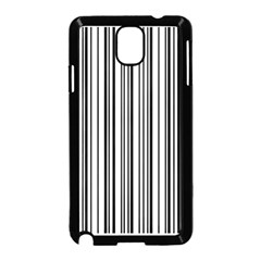 Barcode Pattern Samsung Galaxy Note 3 Neo Hardshell Case (black)