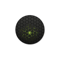 Green Android Honeycomb Gree Golf Ball Marker (10 Pack)