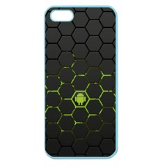 Green Android Honeycomb Gree Apple Seamless Iphone 5 Case (color) by BangZart
