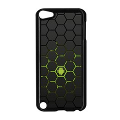 Green Android Honeycomb Gree Apple Ipod Touch 5 Case (black)