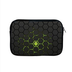 Green Android Honeycomb Gree Apple Macbook Pro 15  Zipper Case