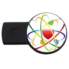 Love Usb Flash Drive Round (2 Gb)