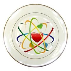 Love Porcelain Plates by BangZart