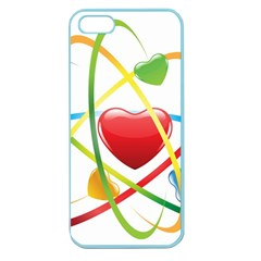 Love Apple Seamless Iphone 5 Case (color) by BangZart