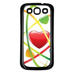 Love Samsung Galaxy S3 Back Case (black) by BangZart