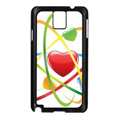 Love Samsung Galaxy Note 3 N9005 Case (black)