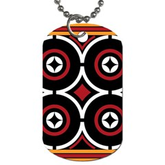 Toraja Pattern Ne limbongan Dog Tag (two Sides)