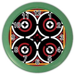 Toraja Pattern Ne limbongan Color Wall Clocks