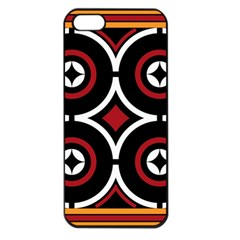 Toraja Pattern Ne limbongan Apple Iphone 5 Seamless Case (black)