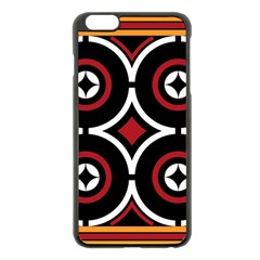 Toraja Pattern Ne limbongan Apple Iphone 6 Plus/6s Plus Black Enamel Case