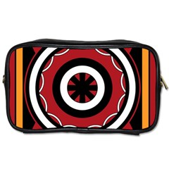 Toraja Pattern Pa barre Allo Toiletries Bags 2 Side by BangZart