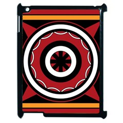 Toraja Pattern Pa barre Allo Apple Ipad 2 Case (black)