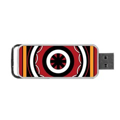 Toraja Pattern Pa barre Allo Portable Usb Flash (two Sides)