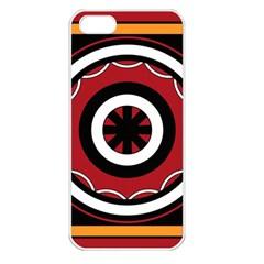 Toraja Pattern Pa barre Allo Apple Iphone 5 Seamless Case (white)