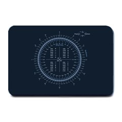 Minimalistic Knowledge Mathematics Trigonometry Plate Mats
