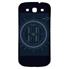 Minimalistic Knowledge Mathematics Trigonometry Samsung Galaxy S3 S Iii Classic Hardshell Back Case