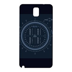 Minimalistic Knowledge Mathematics Trigonometry Samsung Galaxy Note 3 N9005 Hardshell Back Case