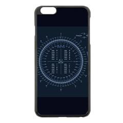 Minimalistic Knowledge Mathematics Trigonometry Apple Iphone 6 Plus/6s Plus Black Enamel Case