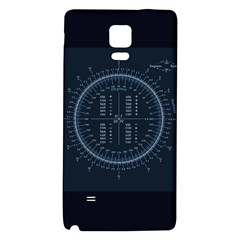 Minimalistic Knowledge Mathematics Trigonometry Galaxy Note 4 Back Case