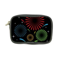Fireworks With Star Vector Coin Purse