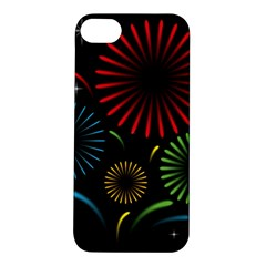 Fireworks With Star Vector Apple Iphone 5s/ Se Hardshell Case