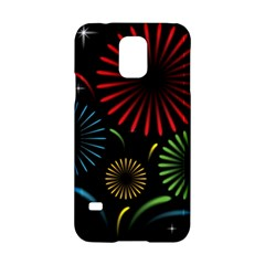 Fireworks With Star Vector Samsung Galaxy S5 Hardshell Case