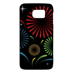 Fireworks With Star Vector Galaxy S6