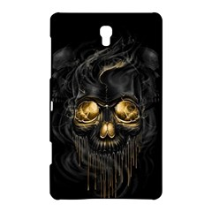 Art Fiction Black Skeletons Skull Smoke Samsung Galaxy Tab S (8 4 ) Hardshell Case
