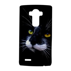 Face Black Cat Lg G4 Hardshell Case by BangZart