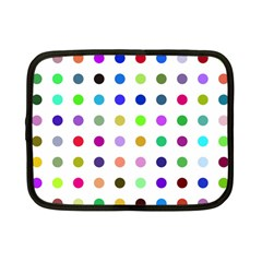 Circle Pattern Netbook Case (small)