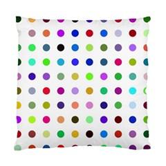 Circle Pattern Standard Cushion Case (two Sides) by BangZart