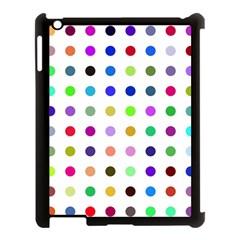 Circle Pattern Apple Ipad 3/4 Case (black)