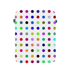 Circle Pattern Apple Ipad 2/3/4 Protective Soft Cases
