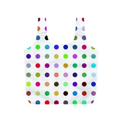 Circle Pattern Full Print Recycle Bags (s)