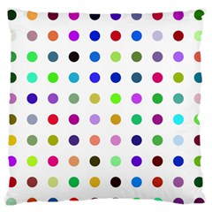 Circle Pattern Standard Flano Cushion Case (two Sides) by BangZart