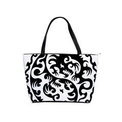 Ying Yang Tattoo Shoulder Handbags