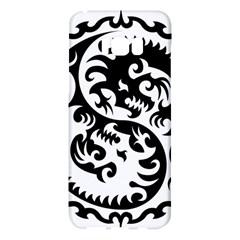 Ying Yang Tattoo Samsung Galaxy S8 Plus Hardshell Case  by BangZart