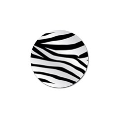 White Tiger Skin Golf Ball Marker (10 Pack)