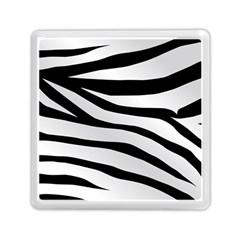 White Tiger Skin Memory Card Reader (square)